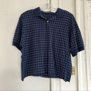Brandy Melville Cropped Polo Tshirt